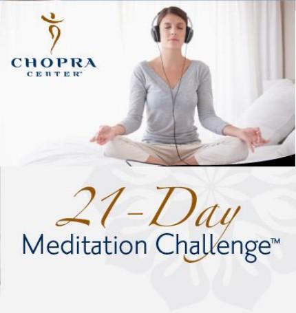 21 day free meditation from deepak chopra